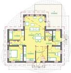 План каркасного дома