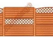 Забор деревянный конструктор