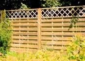 Деревянный забор франк