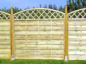 Декоративный забор Леон