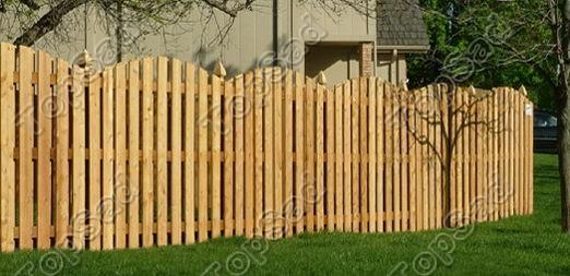 Деревянный забор Петербург
