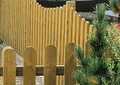 Строительство деревянных заборов Пилот